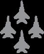 Mach 1 Logo Airplanes